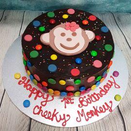 Gluten Free Cheeky Monkey Cake