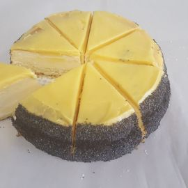 Photo---Lemon-and-Poppyseed-Baked-Cheese-Cake