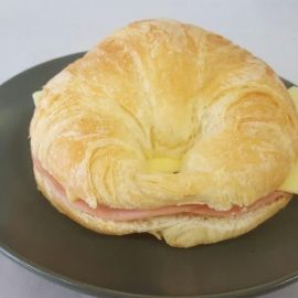 Photo---Chroissant-Plain-Ham-and-Cheese-or-Almond