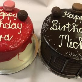 Photo---Red-Velvet-and-Chocolate-Drip-Cakes