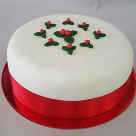 Photo---Iced-Christmas-Cake
