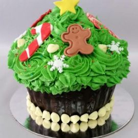 Photo---Large-Christmas-Cupcake